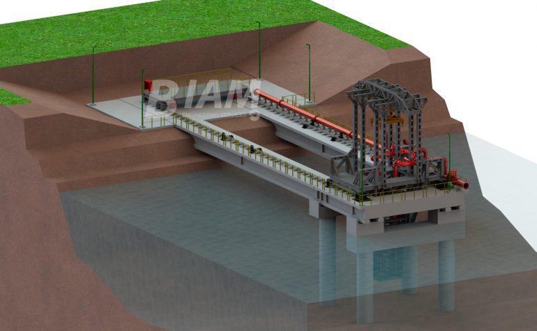 Puente para Toma de Agua de Planta Potabilizadora